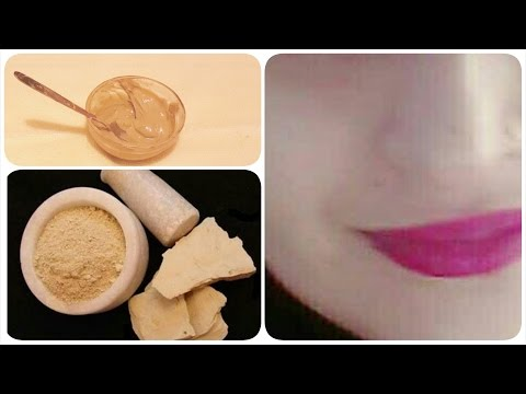 Multani Mitti face pack for getting instant fairness and glowing skin