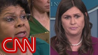 Reporter asks if Trump considered resigning