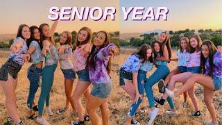 FIRST DAY OF SCHOOL : senior year