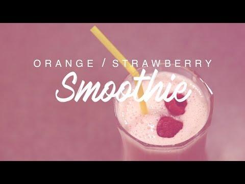 Orange/Strawberry Smoothie