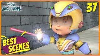 BEST SCENES of VIR THE ROBOT BOY | Animated Series For Kids | #37 | WowKidz Action