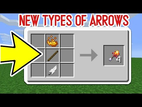 HOW TO GET NEW ARROWS IN MINECRAFT !