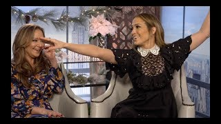 SECOND ACT Funny Cast Interviews: Jennifer Lopez, Vanessa Hudgens, Milo Ventimiglia, Leah Remini