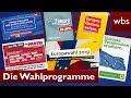 Europawahl Was Steht In Den Wahlprogrammen Rechtsanwalt Christian Solmecke