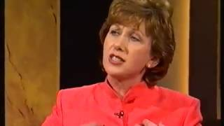 President Mary McAleese on The Late Late Show 1999