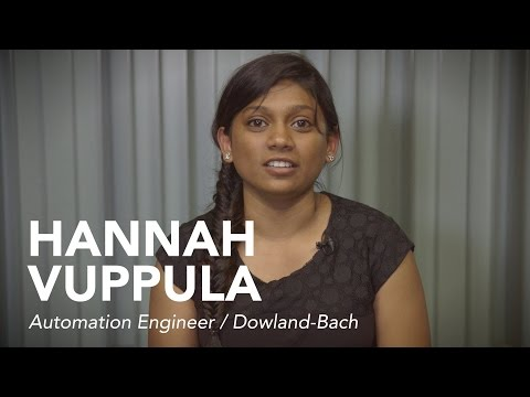 Hannah: It's difficult to find jobs as an international student