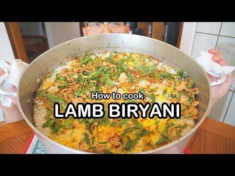 How to cook LAMB BIRYANI