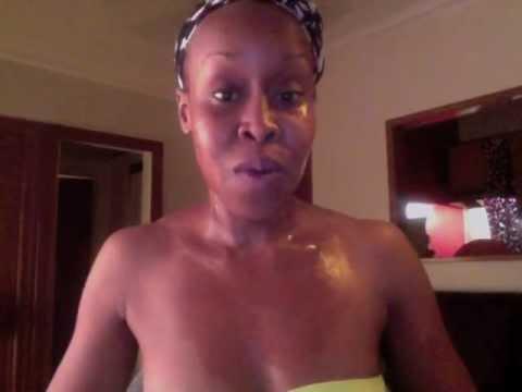 Aloe Vera Gel on Your Face & Neck