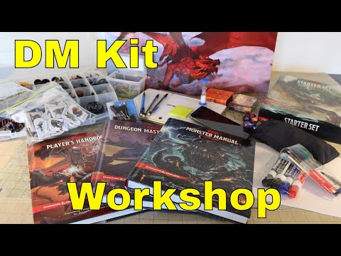 D&D 5E: Dungeon Master Kit Workshop (New)