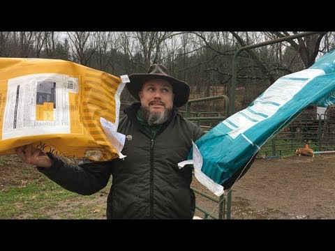 What to do with all your empty feed bags!