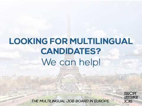 Europe Language Jobs – Job Board for Multilinguals