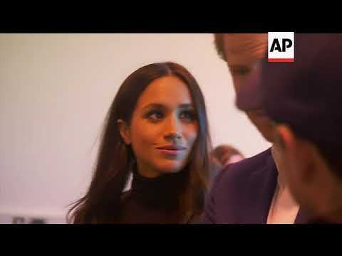 Prince Harry and Meghan meet students at Nottingham Academy