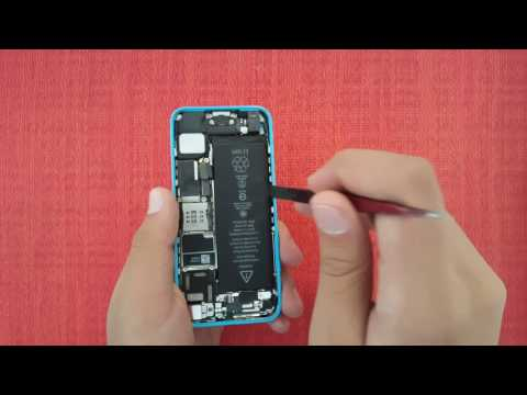 How to Replace iPhone 5C Battery in 5 Minutes