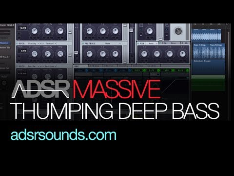 NI Massive tutorial - Thumping Deep Tech/House Bass