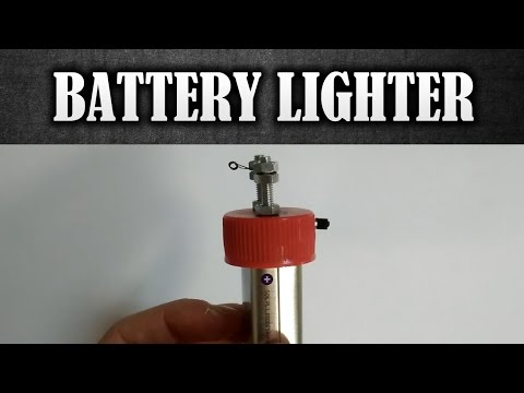 How To Make an Electric Lighter - DIY Battery Lighter