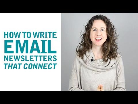 How to Write Email Newsletters That Connect