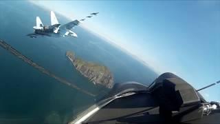 Flying on Russian fighter jet: Stunning aerials on board Su-35