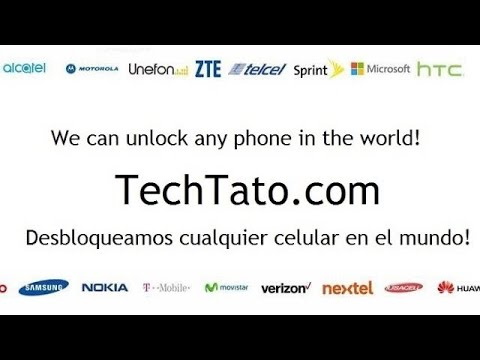 How to Unlock Any HTC cellphone (Ex: Cricket Wireless HTC 510)