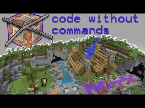 Minecraft: How to code WITHOUT commands! [DiamondFire Server]
