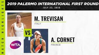Martina Trevisan vs. Alizé Cornet | 2019 Palermo International First Round | WTA Highlights