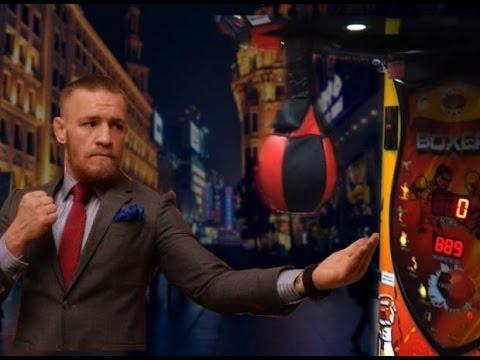 Conor McGregor vs Jon Jones - Punching Machine