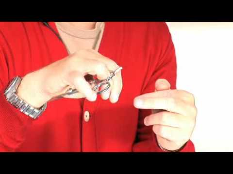 myhairdressers Official How to hold scissors Hair Cutting Training