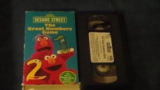 Closing To Sesame Street Elmo Says Boo 2001 VHS (Sesame