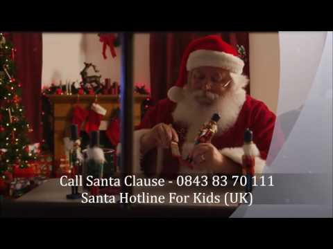Santa Claus Phone Call - Call Santa Hotline Now (UK Number)