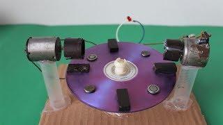 Free Energy Machine Magnetic Self Running Generator