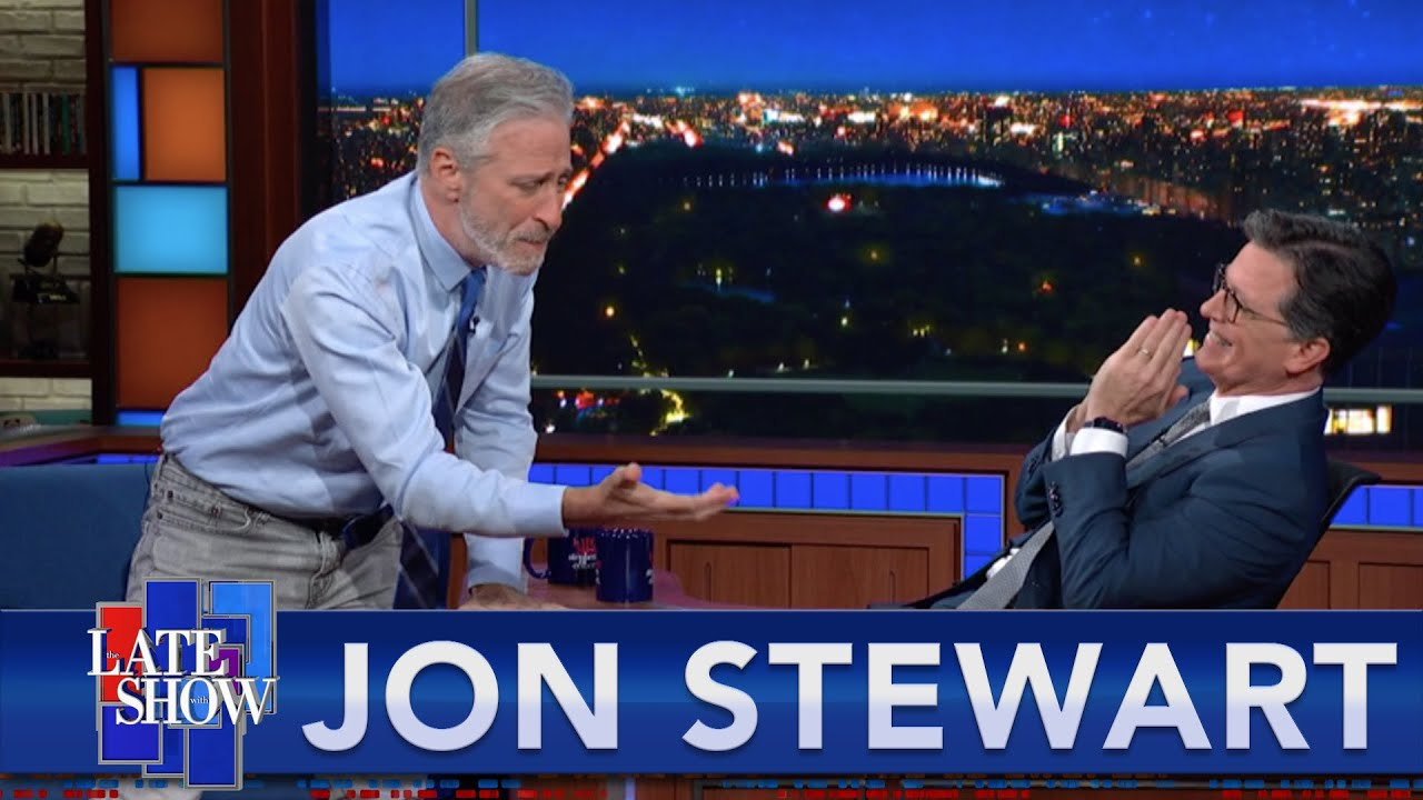 """""""They Are Going To Kill Us All"""" - Jon Stewart Declares His Love For Scientists"""