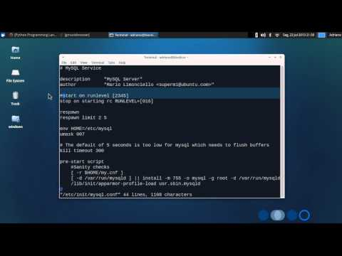 Disable MySQL service at boot on Linux