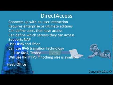 MCTS 70-680: Windows 7 DirectAccess