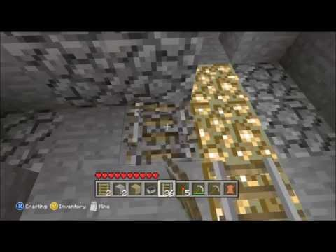 How to make minecart track in minecraft xbox 360 edition