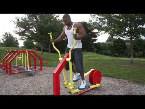 Outdoor Gym Workout Circuit Canada