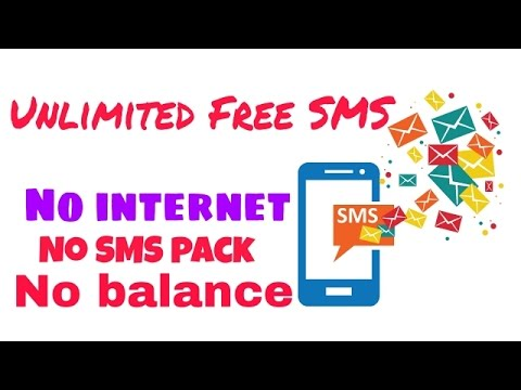 How to send unlimited free SMS 2017