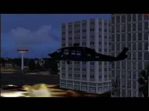 Helicopter, FSX Microsoft Flight Simulator