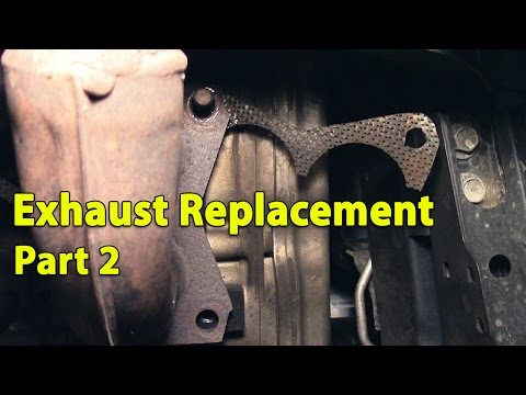 Exhaust Replacement on Subaru Outback | Part 2 of 2