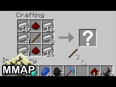 Minecraft: HOW do you Craft Rails?! (335)