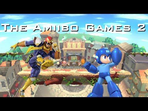The Amiibo Games 2 - Round 2 Set 8   One Punch (Cpt. Falcon) vs. MegaMango (Mega Man)