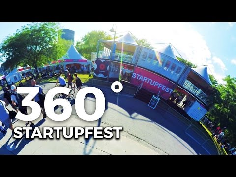 360 Degrees Experience Startupfest 2016