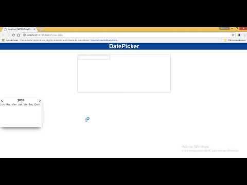 Datepicker desde cero con javascript html css