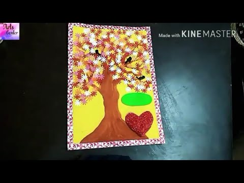 How to Decorate beautiful Project files with Cover page and border easy & simple |by The Arts Center