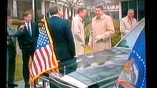President Reagan, Bush, The Secret Service...And A New Limousine