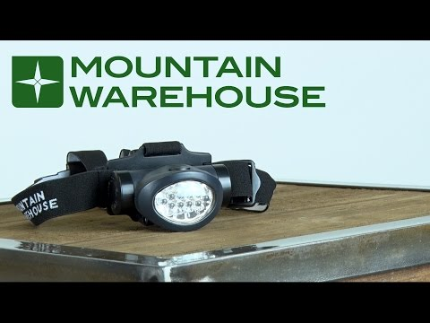 Head Torch Buying Guide by Mountain Warehouse