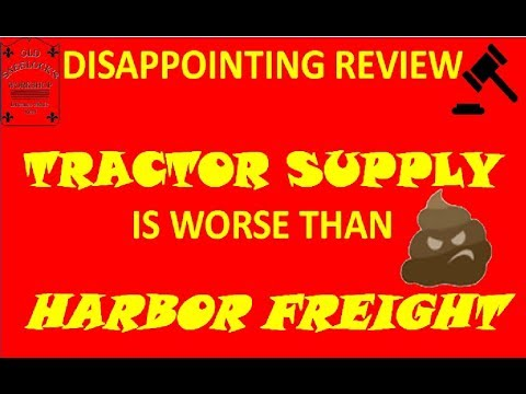 DISAPPOINTING ~ TRACTOR SUPPLY IS WORSE THAN HARBOR FREIGHT ~ KORD MANAGER BY BAYCO PRODUCTS INC