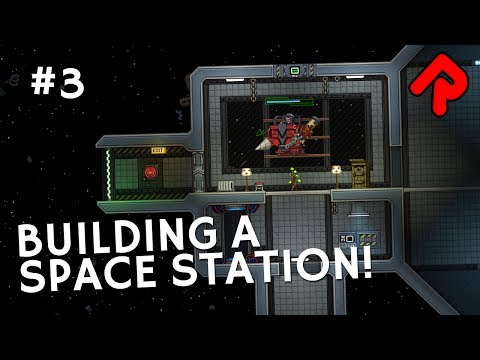 Building A Space Station & Trading Goods | Let's play Starbound 1.3 preview [RC2]
