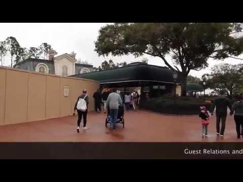 Walking from Disney's BoardWalk to Epcot