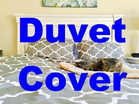 How to Change a Duvet Cover (Easy)
