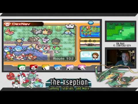 Full Dex Nav Guide on finding Pokemon in Omega Ruby/Alpha Sapphire (ORAS)