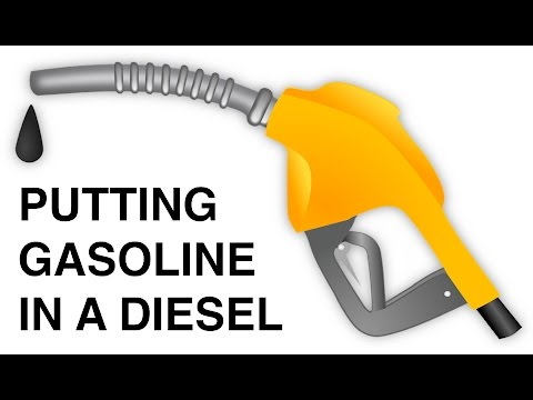 Putting Gasoline In A Diesel Car What Happens